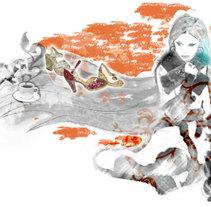 Castañer Winter /Autumn. Un proyecto de Ilustración y Publicidad de laKarulina  - Martes, 25 de enero de 2011 19:07:54 +0100
