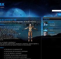 3D Design Studio. A Design, Advertising, Software Development, UI / UX, 3D&IT project by Rafael Campoverde Durán         - 07.02.2011