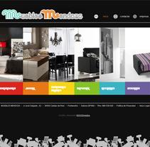 Muebles Mendoza. A Design, and Software Development project by Patricia García Rodríguez         - 08.02.2011