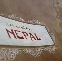 ÁLAMOS Colección Nepal. Um projeto de Design de ignacio castells         - 25.03.2011