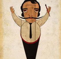 Personages // Posters. Un proyecto de  de Paula  Maia Carro         - 06.04.2011