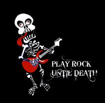 Play Rock Until Death. A  project by Paula Araújo Losas         - 11.04.2011