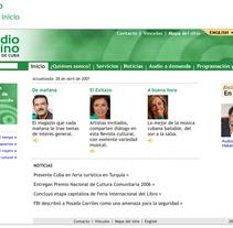 Radio Taíno web identidad. Un proyecto de Diseño, Ilustración, Publicidad, Desarrollo de software, Fotografía e Informática de Eduardo A. González         - 11.04.2011