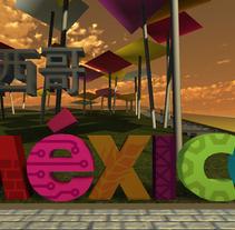 Pabellon virtual de México en la Expo Shanghai. Un proyecto de Diseño, Ilustración, 3D e Informática de victor franco         - 15.04.2011