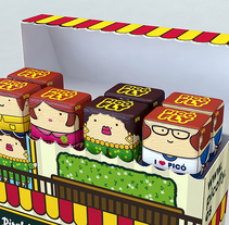 Picofly - El turron con palo. A Design, Illustration, Advertising, and 3D project by Javier Egea - 23-04-2011