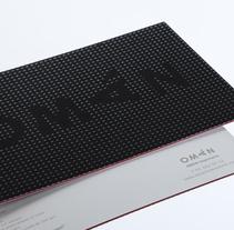 Postal en Braille. Un proyecto de Diseño y Publicidad de Omán Impresores  - Lunes, 25 de abril de 2011 12:58:38 +0200
