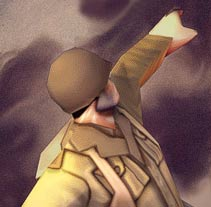 Soldado 3D low poly. A Illustration, and 3D project by Juan Pablo González         - 06.05.2011