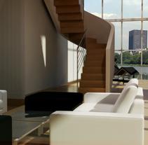 Apartamento Ixelles. Un proyecto de 3D de Atres-studio         - 09.05.2011