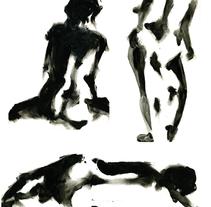Motifs nus. Um projeto de Ilustração de Laure Chassaing - 18-05-2011