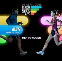 Nike Cursa Bombers 2009. Um projeto de Design, Publicidade e UI / UX de Fernando Alcazar         - 29.05.2011