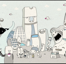 MAD2011 / Funny Urbanism. A Illustration, and Advertising project by Celsius Pictor  - Jun 05 2011 03:56 PM