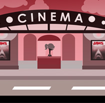Cinema. A Illustration project by Sandra Romero - 08-06-2011