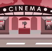 Cinema. A Illustration project by Sandra Romero - Jun 08 2011 11:56 AM