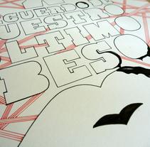 Cambio besos por mi corazón. A Illustration project by Isaac  Vivancos         - 04.07.2011