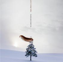 Los colores del invierno: negro, blanco y con leche. Un proyecto de Diseño y Publicidad de Miguel de Llobet         - 18.07.2011