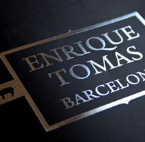 Catalogo Selección Jamones Enrique Tomás. Um projeto de Design, Publicidade e Fotografia de hola@kvra.es          - 22.07.2011