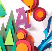 FOLLETO POSTER // E. A. ANTONIO LÓPEZ. Um projeto de Design, Ilustração e Fotografia de Versátil diseño estratégico         - 27.07.2011