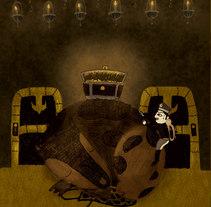 el encendedor de yesca. Un proyecto de Ilustración de Carol Rollo         - 05.08.2011