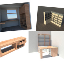Muebles por encargo. A Design, and 3D project by Maria Jose Nuñez Perez         - 08.08.2011