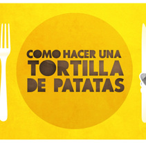 Tortilla de patatas. A Motion Graphics project by Borja Alami Vidal - 15-09-2011