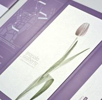 Invitación de boda. Mariola & Alberto. Un proyecto de Diseño de Hugo Blanes Giner - Lunes, 03 de octubre de 2011 09:18:20 +0200