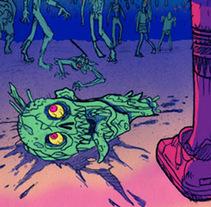 California Zombie Love. Un proyecto de Ilustración de Chiko  KF - Lunes, 03 de octubre de 2011 18:55:20 +0200