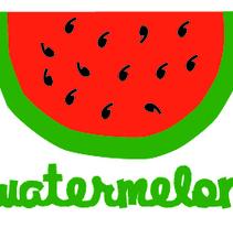 watermelon. A Design&Illustration project by Marta de la Iglesia         - 19.07.2012