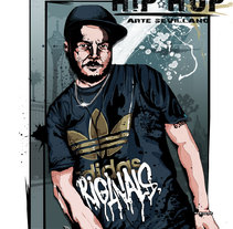 HIP HOP. A Design&Illustration project by Daniel Rodriguez Morales         - 20.10.2011