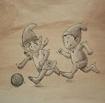 Habitación infantil. Un proyecto de Ilustración de Jaume Llunell Sánchez - 20-12-2011