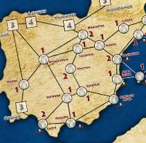 Tablero Imperios del Mediterráneo (Juego de Mesa). A Design project by dramaplastika - 26-10-2011