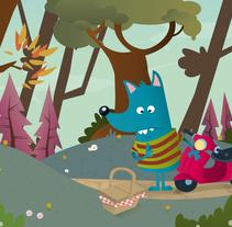 El Lobo Veloz 2. Un proyecto de Ilustración de Yago Juez Deusto - 29-10-2011