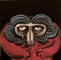 ''La Abuela Calavérica que a todos nos cuida''. Um projeto de Ilustração de Natxo  Ramirez Garcia - 08-11-2011
