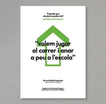 Pla de Mobilitat Sostenible. Um projeto de Design e Ilustração de Raúl Escobar Ferrís         - 10.11.2011