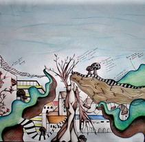 Ilustración | Surrealista Parque de Atracciones . A Illustration project by Natacha  Côrte-Real Duarte Pessanha         - 10.11.2011