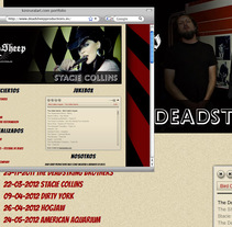 Dead Sheep Productions. A Design, Illustration, Music, Audio, Software Development, and UI / UX project by Joaquín  Fernández Campuzano - 12-11-2011