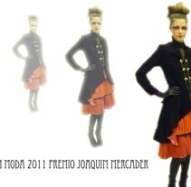 Finalista BDNModa 2011. Un proyecto de Diseño e Ilustración de Roxana Hernández - 24-11-2011