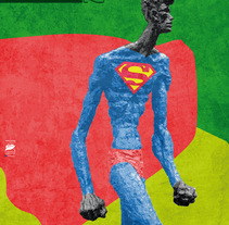 Propuesta de cartel para el Carnaval del Vitoria-Gasteiz 2012. Um projeto de Design de Raul Piñeiro Alvarez         - 07.12.2011