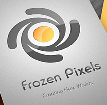 Frozen Pixels Studio corporate identity. A Design project by Ana         - 20.12.2011