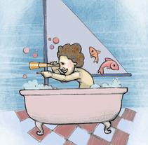 Juegos de niños. Um projeto de Ilustração de Estrella Conde         - 20.12.2011