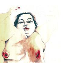 Desnuda 1. A Design&Illustration project by Cecilia Sánchez         - 10.01.2012