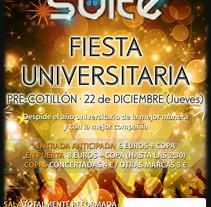 Discoteca Suite (Cartel). Um projeto de Design, Ilustração, Publicidade e Fotografia de Carlos Ponce de León         - 17.01.2012