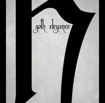 Goth Elegance. A Design project by Pablo Arenales - Jan 17 2012 03:15 PM