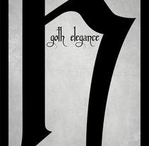 Goth Elegance. Un proyecto de Diseño de Pablo Arenales - Martes, 17 de enero de 2012 15:15:27 +0100