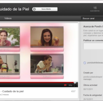 Pond´s White Beauty / Videos Youtube. Um projeto de Publicidade de Anakaren Castro         - 18.01.2012