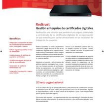 Redtrust -Whitepaper -Datasheet. A Design, and Advertising project by Sergio Sala Garcia         - 26.01.2012