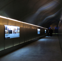 Túnel acceso Sta. Bárbara. Un proyecto de Diseño e Instalaciones de enZETA - 29-02-2012
