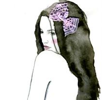 Ilustación de moda. Um projeto de Design e Ilustração de Laura Plaza Fernández         - 01.03.2012
