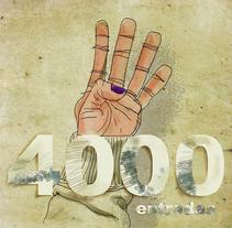 4000 entradas. A Illustration project by Iván  Ferrándiz Soler         - 13.03.2012