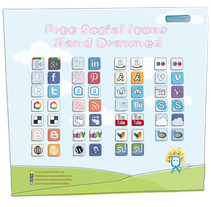 Social Media Icons. A Design&Illustration project by EME - Mar 26 2012 11:26 AM