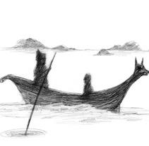Ahotsen Uhartea.. Un proyecto de Diseño e Ilustración de Aitziber  Akerreta  - 30-03-2012